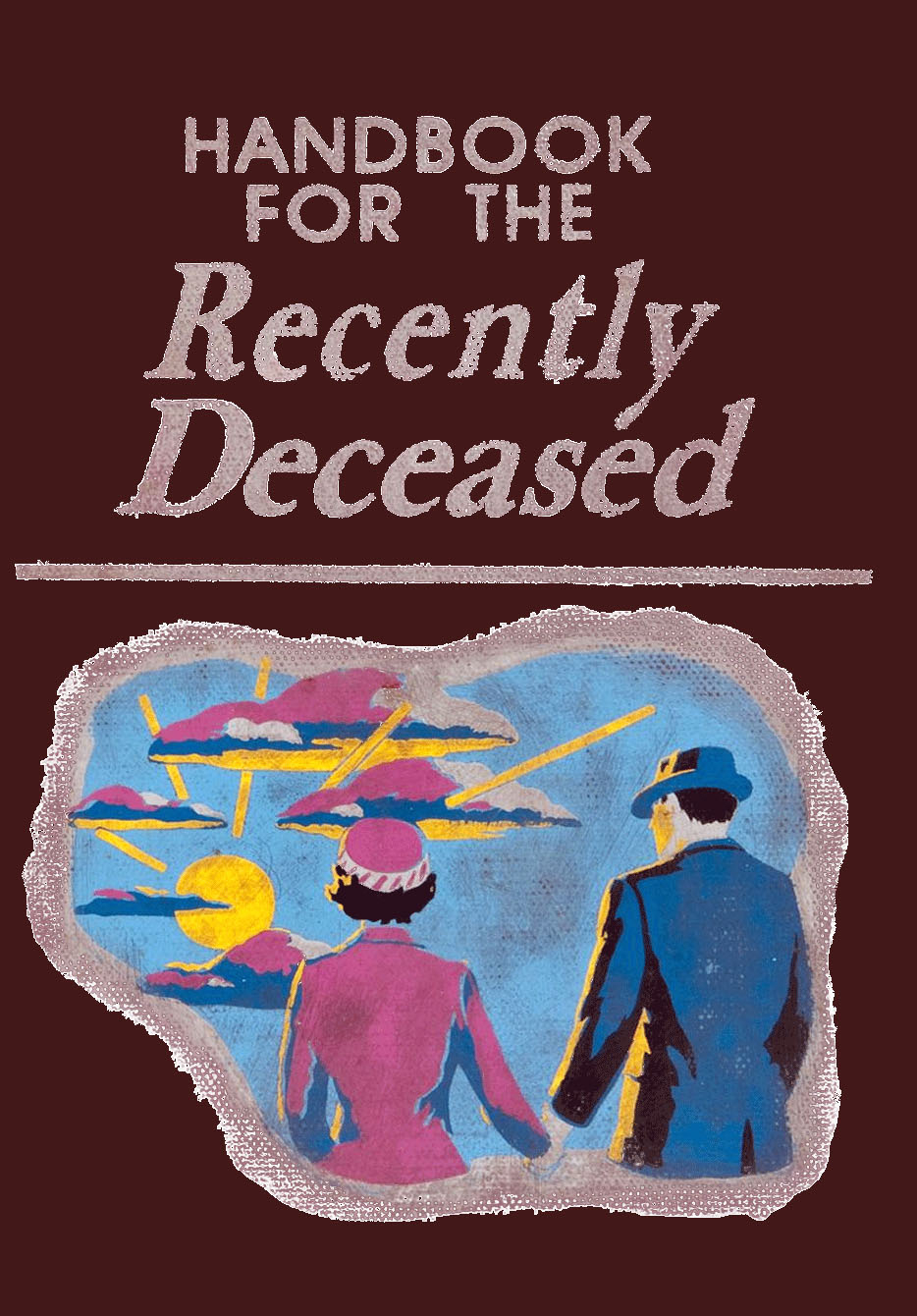 Printable Book Cover Handbook For The Recently Deceased ~ ⋆
